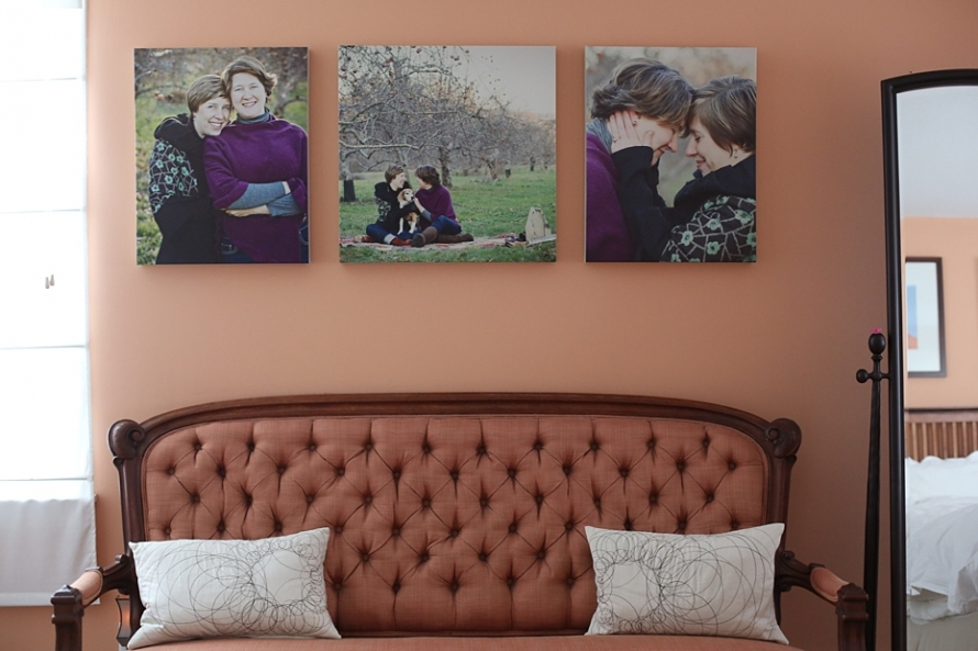 photographic canvases